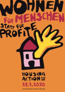 Wohnen für Menschen statt für Profite - Housing Action Day 28.03.2020